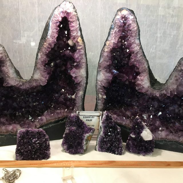 Beautiful Amethyst cathedrals from Uruguay