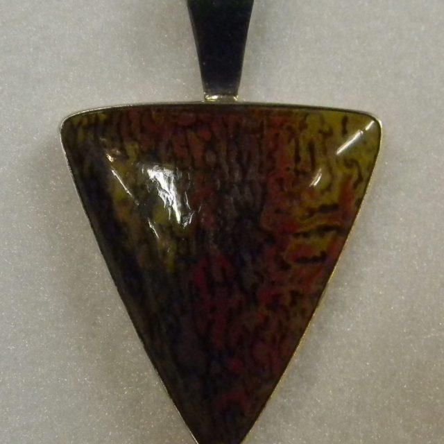 dinosaur bone pendant